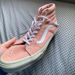 Pink Hightop Vans